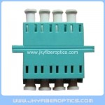 LC/PC SM Quad Fiber Optical Adaptor-Light Blue Color