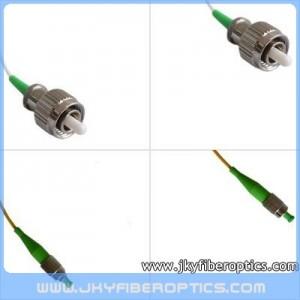 FC/APC to FC/APC Singlemode Simplex Fiber Optic Patch Cord