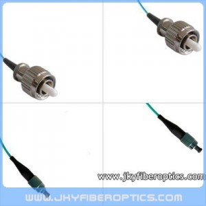 FC/PC to FC/PC Multimode OM3 10G Simplex Fiber Optic Patch Cord