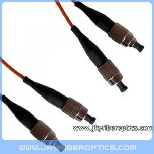 FC/PC to FC/PC Multimode Duplex Fiber Optic Patch Cord