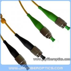 FC/UPC to FC/APC Singlemode Duplex Fiber Optic Patch Cord