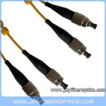 FC/UPC to FC/UPC Singlemode Duplex Fiber Optic Patch Cord