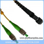 FC/APC to MTRJ Singlemode Duplex Fiber Optic Patch Cord