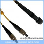FC/UPC to MTRJ Singlemode Duplex Fiber Optic Patch Cord