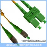 FC/APC to SC/APC Singlemode Duplex Fiber Optic Patch Cord