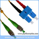 FC/APC to SC/UPC Singlemode Duplex Fiber Optic Patch Cord
