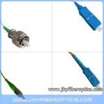 FC/APC to SC/UPC Singlemode Simplex Fiber Optic Patch Cord