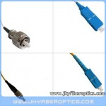 FC/UPC to SC/UPC Singlemode Simplex Fiber Optic Patch Cord
