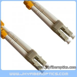 LC/PC to LC/PC Multimode Duplex Fiber Optic Patch Cord