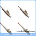LC/PC to LC/PC Multimode Simplex Fiber Optic Patch Cord
