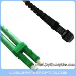 LC/APC to MTRJ Singlemode Duplex Fiber Optic Patch Cord