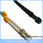 LC/PC to MTRJ Multimode OM3 10G Duplex Fiber Optic Patch Cord