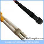 LC/PC to MTRJ Multimode Duplex Fiber Optic Patch Cord