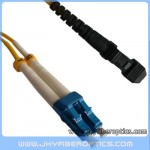 LC/UPC to MTRJ Singlemode Duplex Fiber Optic Patch Cord