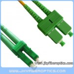 LC/APC to SC/APC Singlemode Duplex Fiber Optic Patch Cord