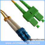 LC/UPC to SC/APC Singlemode Duplex Fiber Optic Patch Cord