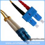 LC/UPC to SC/UPC Singlemode Duplex Fiber Optic Patch Cord