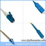 LC/UPC to SC/UPC Singlemode Simplex Fiber Optic Patch Cord