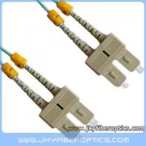 SC/PC to SC/PC Multimode 10G Duplex Fiber Optic Patch Cord