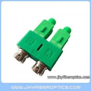FC/UPC(F)-SC/APC(M) Duplex Fiber Hybrid Adaptor