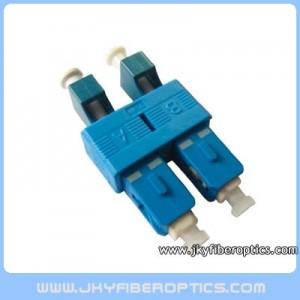 LC(F)-SC(M) Female to Male Duplex Hybrid Adaptor
