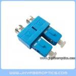 FC(F)-SC(M) Female to Male Duplex Fiber Hybrid Adaptor