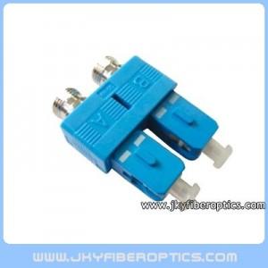FC(母)-SC(公) 公母型双联转接适配器